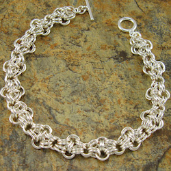 Cross Jump Ring Chain